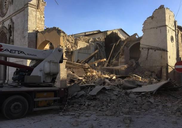 terremoto Norcia 30 ottobre