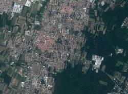 territorio comune samarate aerea satellite