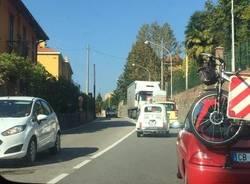 Tir contromano Varese