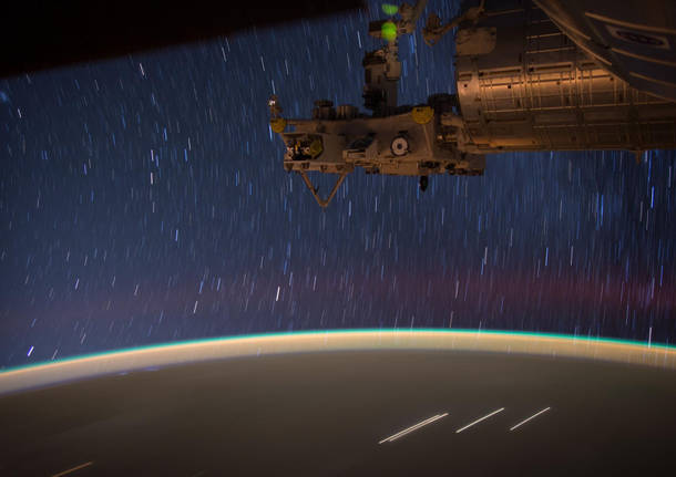 Una notte nello spazio