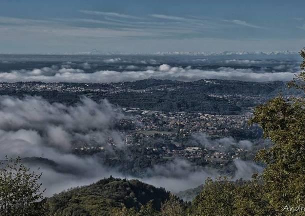 Valceresio - panorama dal Monte Pravello - foto di Andrea Ostoni