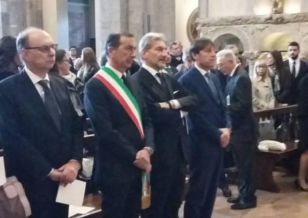 Strage di Linate, in Sant'Ambrogio la messa in ricordo delle vittime