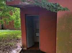 Vedano Olona - Servizi igienici al mercato