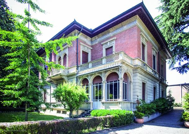 villa jucker sede famiglia legnanese