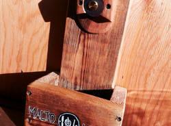 Amedeo Capelli e la magia del legno