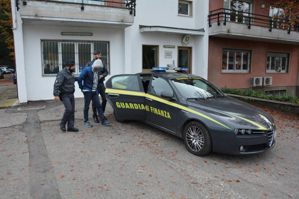 arresti Carlo Ciccio guardia di finanza