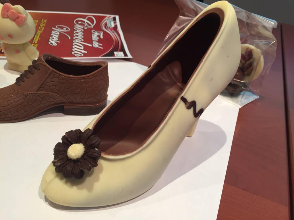 Arte  alla festa del cioccolato