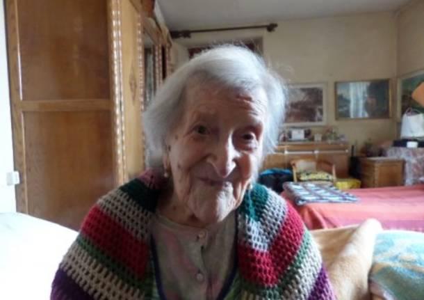 117 anni: Emma Morano festeggia e s'iscrive a Facebook