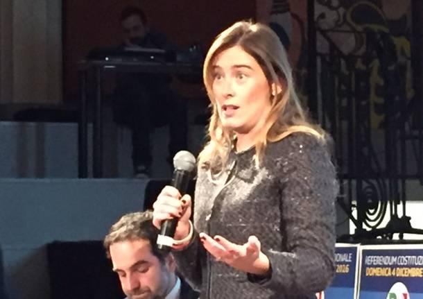 Referendum, Maranesi incontra Maria Elena Boschi