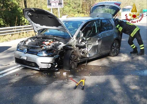 Incidente stradale a Cantello