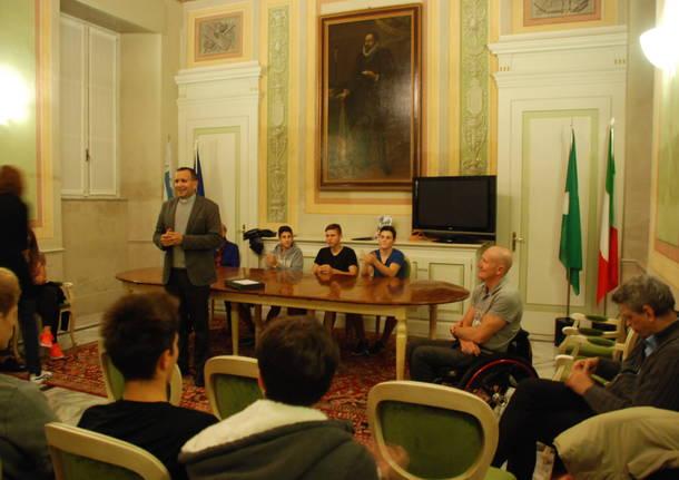 Paolo Cecchetto campione olimpico alle Paralimpiadi di Rio 2016 al Collegio Rotondi