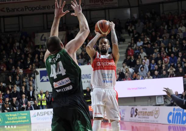 Openjobmetis Varese - Sidigas Avellino 77-79 dts