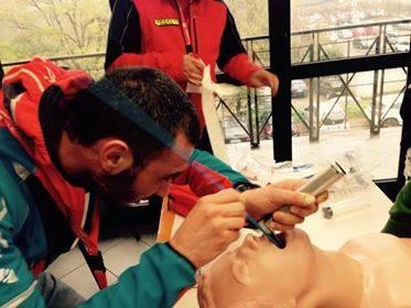 Lezioni di primo soccorso per il Soccorso Alpino