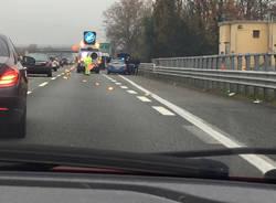 Scontro in autostrada, ferite due ragazze