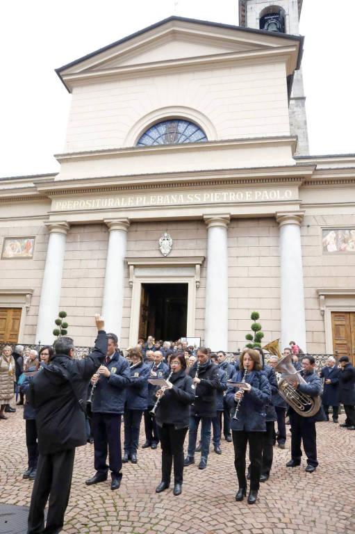 La Musica cittadina saluta Santa Cecilia