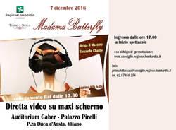 Proiezione della diretta della Prima della Scala 2016 -Madama Butterfly