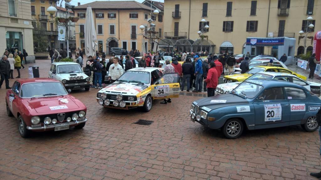 "al \""Rally Aci Varese\"" vincono Leva e Giugni"