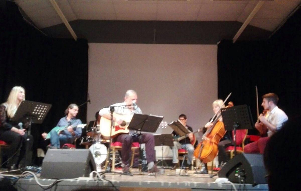 Cuasso al Monte - Concerto Enrico Lisei al Nuovo teatro