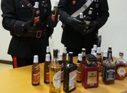 furto alcolici carabinieri