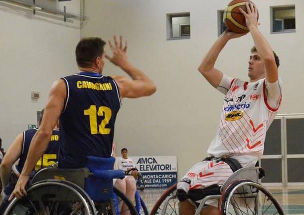 gabriele silva cimberio handicap sport basket in carrozzina