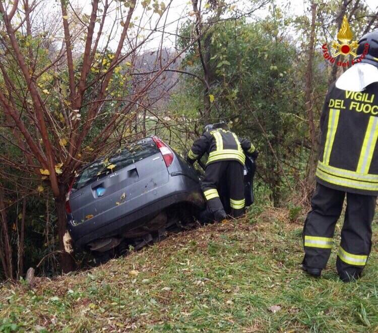 Incidente a Caronno Varesino
