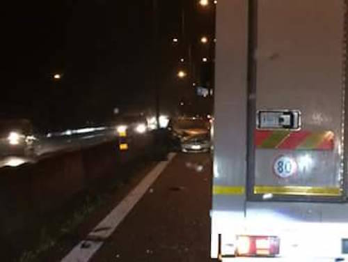 Incidente all'alba sulla 336, lunghe code