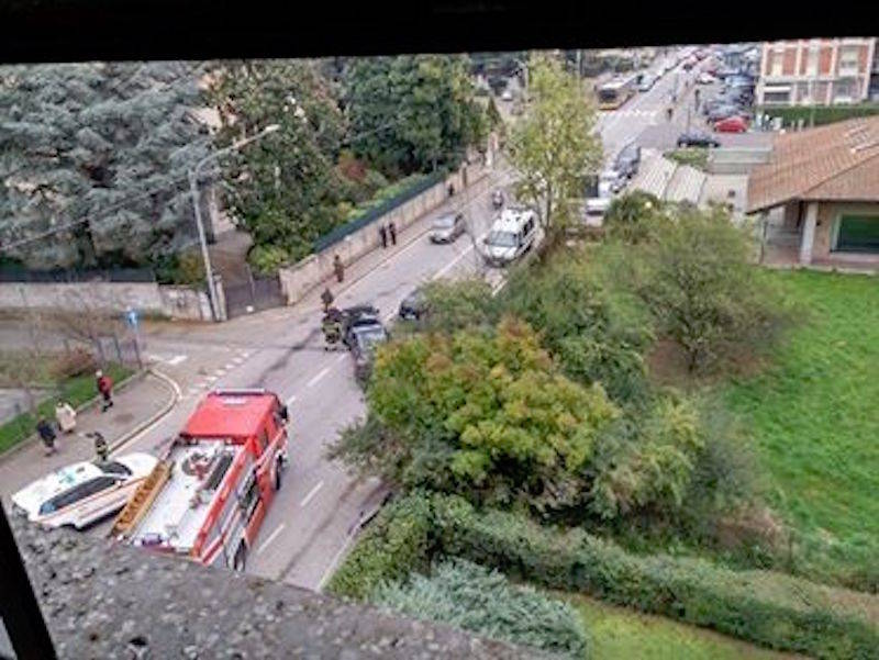 L\'incidente in viale Borri