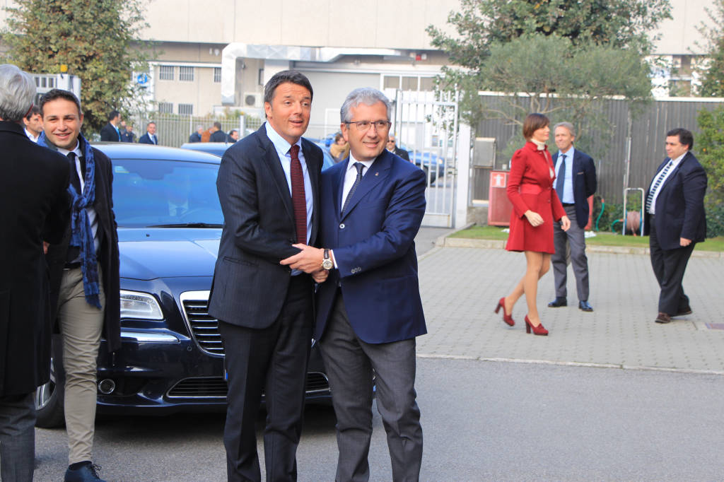 Matteo Renzi a Saronno
