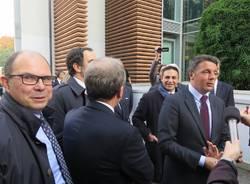 Matteo Renzi alla Yamamay di Gallarate