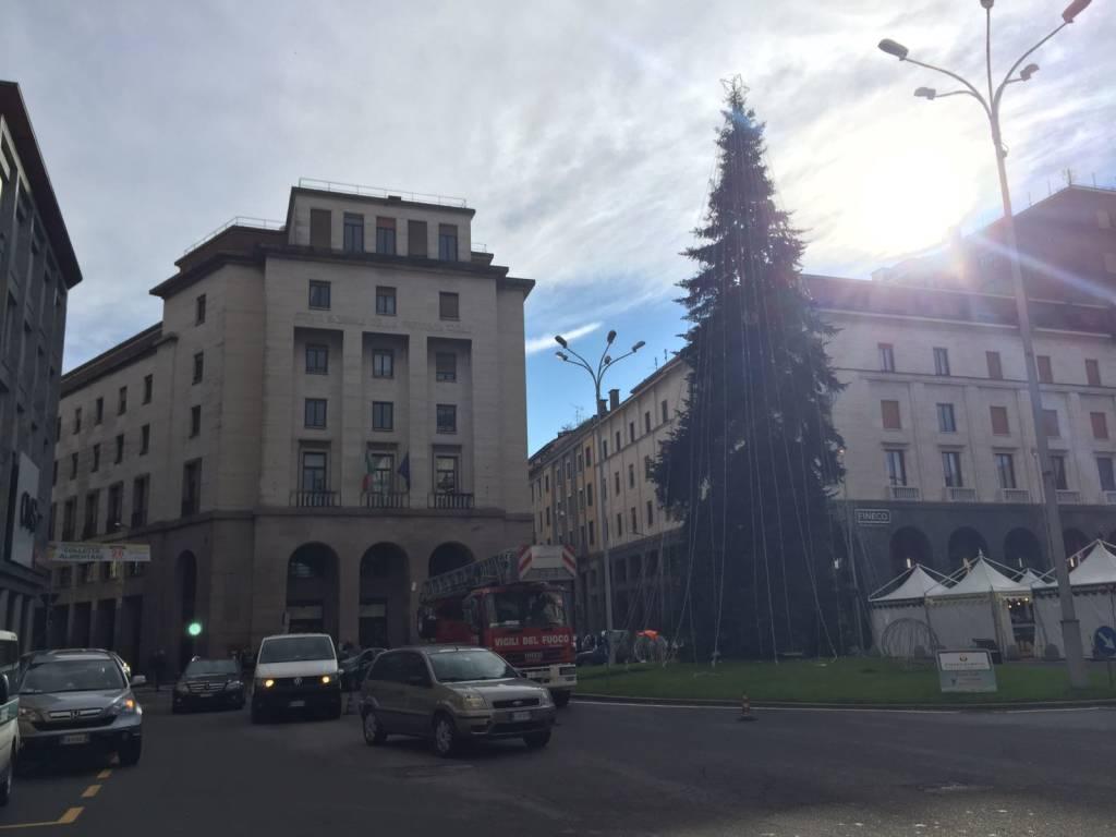 Natale in centro, i preparativi