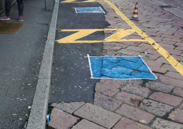Dipingere Strisce Parcheggio : Le strisce pedonali in semplici mosse by ricky youtube