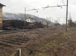 porto ceresio - stazione autunno2016