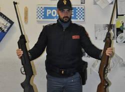 sequestro carabine polizia busto arsizio