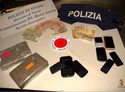 sequestro cocaina polizia busto arsizio