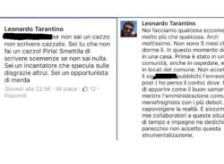 sindaco Samarate insulti facebook