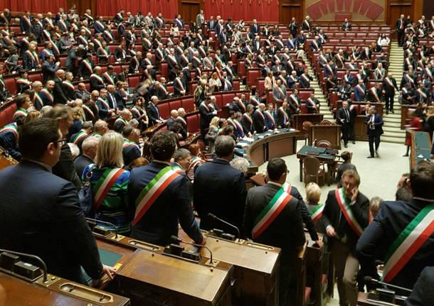 Tradate - sindaco Laura Cavalotti a Roma