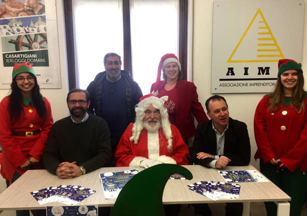 Arriva a Casciago il villaggio di Babbo Natale