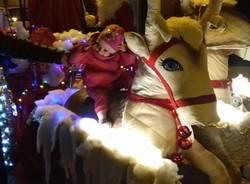 Arriva la slitta di Babbo Natale