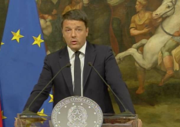 Referendum, Renzi: con Mattarella italiani sono in ottime mani