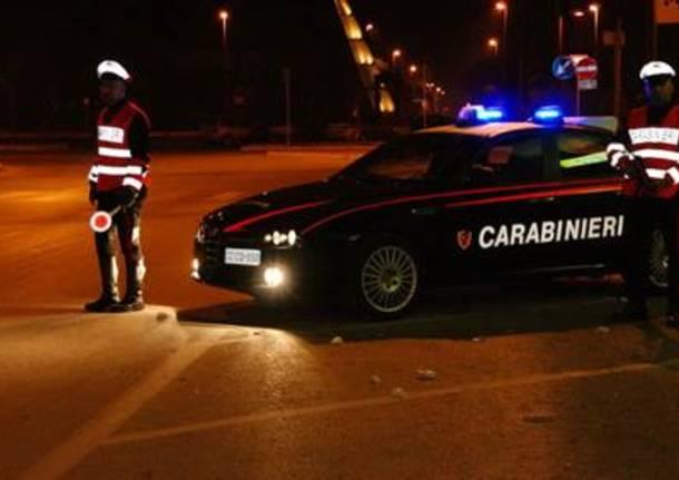 carabinieri pattuglia generica notte
