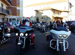 Babbo Natale sulla Harley
