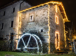 I Mulini illuminati per Natale
