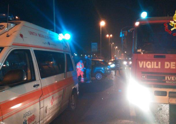 Incidente stradale a Gemonio