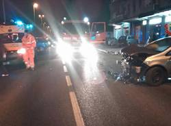 Incidente stradale a Gemonio