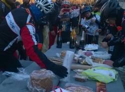 Auguri di Natale in mountain bike