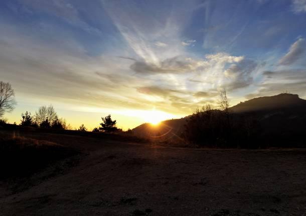 Tramonto a Pian Valdes