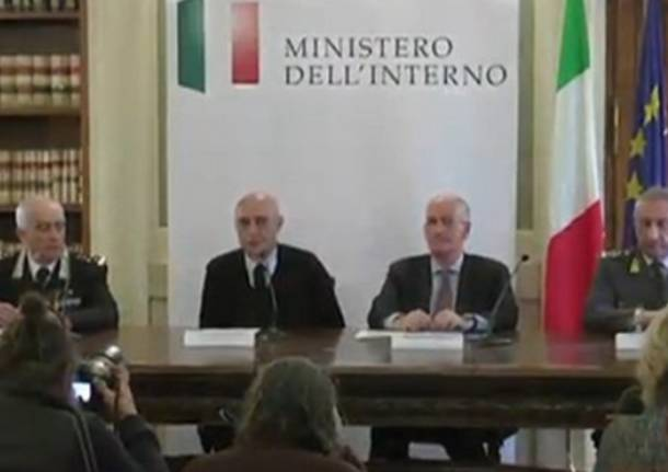 Conferenza stampa Minniti