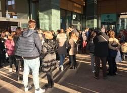 evacuazione centro commerciale arese 28 dicembre 2016