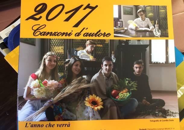 Il calendario 2017 del liceo Cairoli