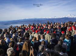 Il coro Val Tinella al Forte di Orino (foto di Sebastiano Riva)